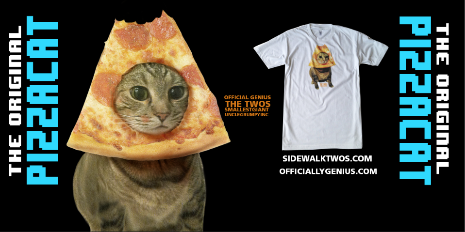 PIZZACAT SHIRT